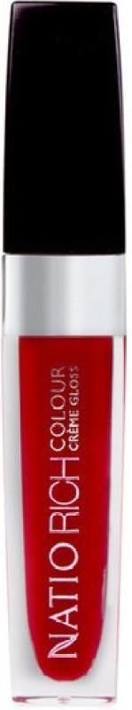 Natio Rcih Colour Crème Gloss Passion 6.5 ml(Red)