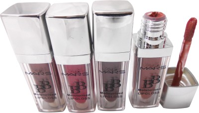 Mars BB Moisturised Lip Gloss With Free Mars Eye/Lip Liner Adbeni Accessories-TSTS-A 5 ml