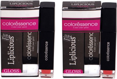 Coloressence Liplicious Gloss Rustique (Pack of 2) 6 ml