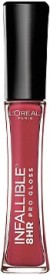 L'Oreal Paris Infallible 8HR Pro Gloss 6.3 ml(MODERN MAUVE -505)