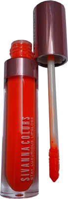 Sivanna Neon Stay Luxurious lip Gloss 4 g