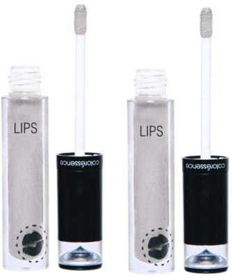 Coloressence Liquid Lip Color Crystal Look - (Pack of 2) 4 ml