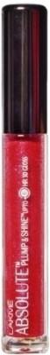 Lakme Absolute Plump & Shine 3D Lip Gloss - 3 ml(Red Shine)