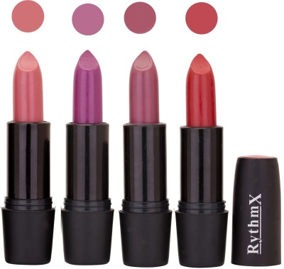Rythmx Black Important Lipsticks Combo 43 16 g