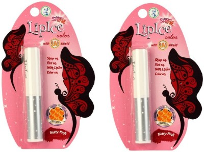 Lipice Lip Color Hotty Pink- Pack of 2 (2.3 g each) 4.6 g