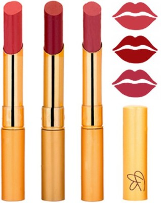 Rythmx Mauve+Mahroon+Mauve Color Lipstick Combo 306 9 g
