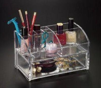 Acrylichomedesign Makeup Organizer W/Drawer 4079 6 g