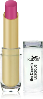 Kudos Color Expert Luscious HD Lipstick Purple Fushion Shade-9 3.5 g