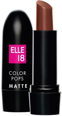 Elle 18 Color Pop Matte Lip Color 4.3 g(Belgian Brown)