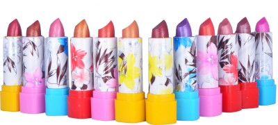 CEUON Multicolor Lipsticks (Packof12) 4 g