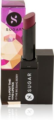 SUGAR IT,S A-POUT TIME! VIVID LIPSTICK - 01 The Big Bang Berry 3.5 g