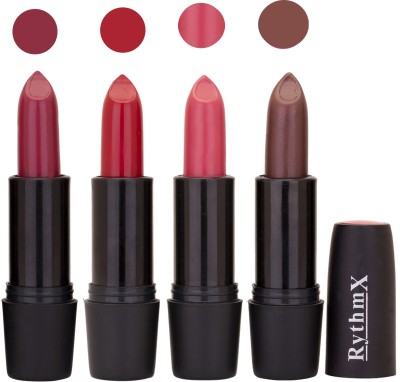 Rythmx Black Important Lipsticks Combo 52 16 g