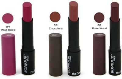 Bonjour Paris Color Cap Lipstick 02-04-05 10.2 g