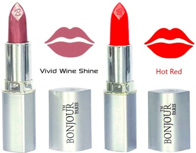 Bonjour Hot Red Color Combo-1046 6.8 g