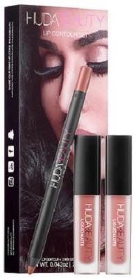 Huda Beauty Lip Contor Set(3 ml, Bomshell & Trendsetter) at flipkart