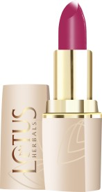 Lotus Herbal Make Up PURE COLORS MOISTURISING LIP COLOR MAGENTA FIRE 4.2 g