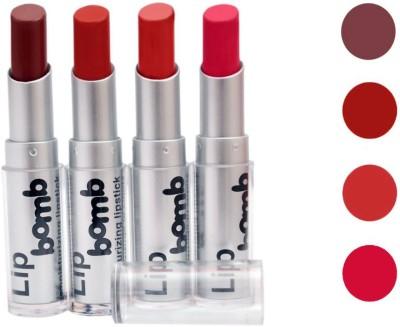 Color Fever Lipstick Combo 16 g(Coffee, Orange, Peach, Pink)