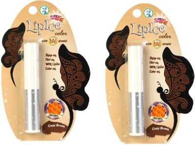 Lipice Micro Shine With UV Shield Crazy Brown 2.3 g