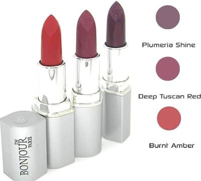 Bonjour Paris Purple Lipstick Combo 17 27 28 12 g