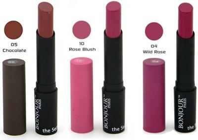 Bonjour Paris Color Cap Lipstick 04-05-10 10.2 g
