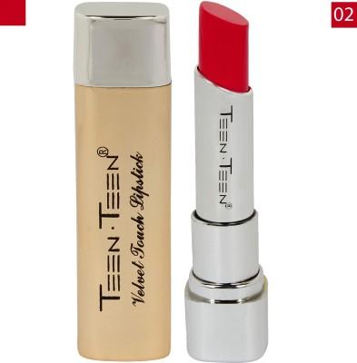 Teen.Teen Velvet Touch Blood Red Lipstick 02No. 3.5 g