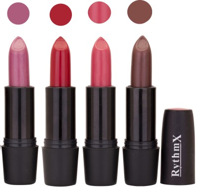 Rythmx Black Important Lipsticks Combo 51 16 g