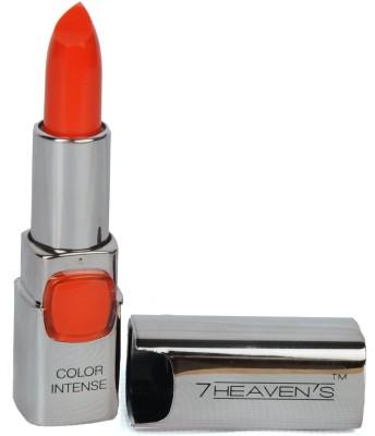 7 Heaven's Color Intense lipstick (601-Sinful Orange) 3.8 g