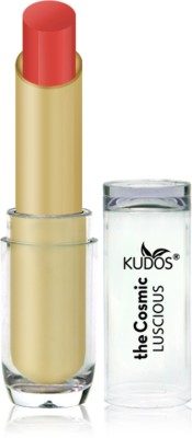 Kudos Color Expert Luscious HD Lipstick Rich Peach Shade-8 3.5 g
