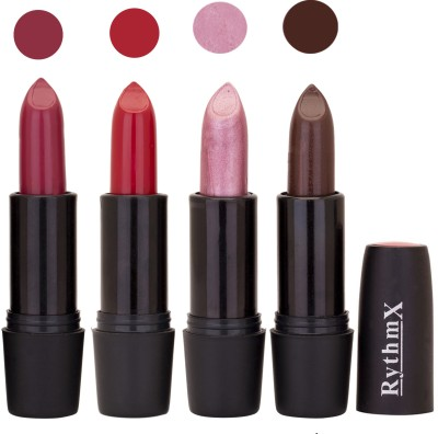 Rythmx Black Important Lipsticks Combo 54 16 g