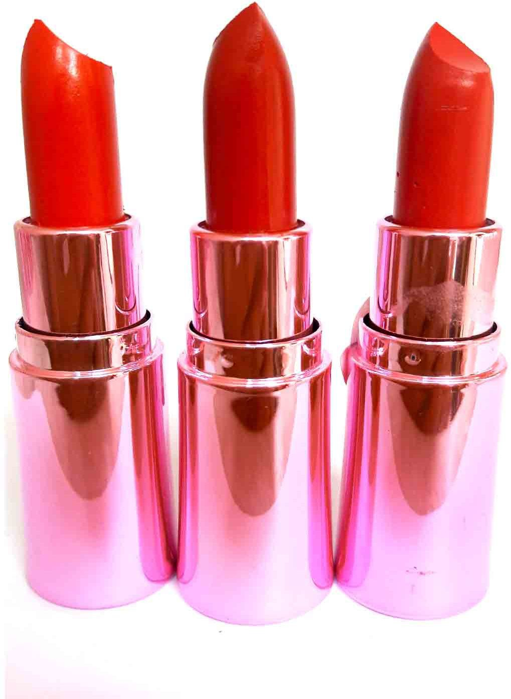 Dozy Luxurious Silky lipstick 3C(24 ml, Multicolor)