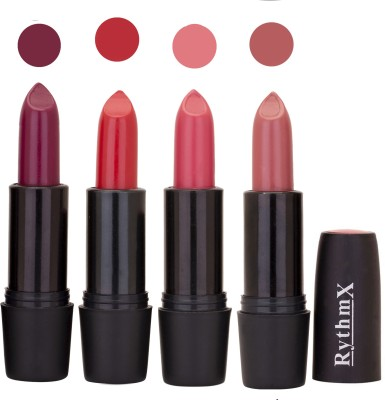 Rythmx Black Important Lipsticks Combo 64 16 g