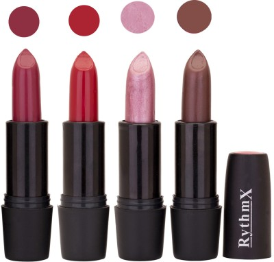 Rythmx Black Important Lipsticks Combo 53 16 g