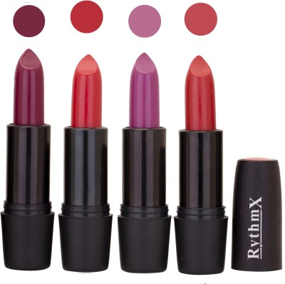 Rythmx Black Important Lipsticks Combo 62 16 g