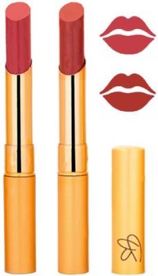 Rythmx Mauve+Birk Red Color Lipstick Combo 202 6 g