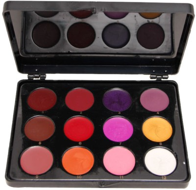 C2p Professional Make-Up Lipstick Palette Large (12 In 1) 36 g