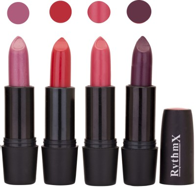 Rythmx Black Important Lipsticks Combo 49 16 g