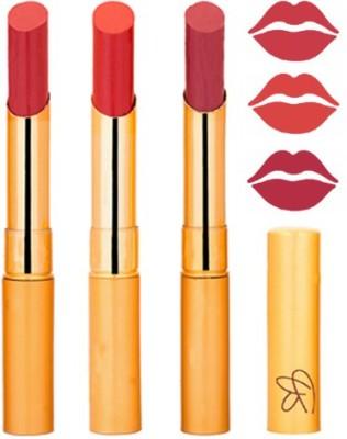 Rythmx Mauve+Reddish Orange+Mauve Color Lipstick Combo 317 9 g