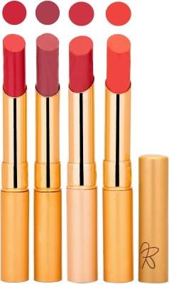 Rythmx Imported Matte Lipstick Combo (Slim 04-07) 16 g
