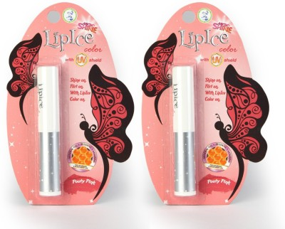 LipIce Color - Pouty Pink Pack Of 2 4.6 g
