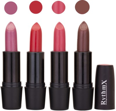 Rythmx Black Important Lipsticks Combo 50 16 g