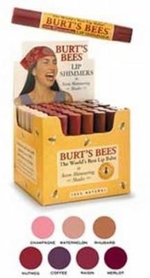 Burt's Bees Lip Shimmer Raisin Stick Raisin 6 g