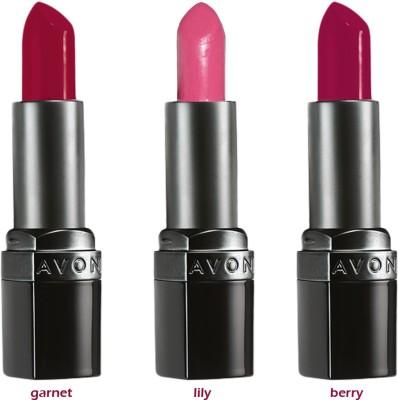Avon Ultra Color Matte Lipstick (set of 3 of 3.8 g each) - 11.4 g