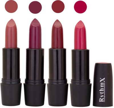 Rythmx Black Important Lipsticks Combo 35 16 g