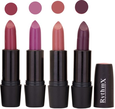 Rythmx Black Important Lipsticks Combo 46 16 g