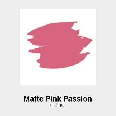 Jordana Matte Pink Passion 6 g