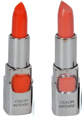 7 Heavens Color Intense lipstick (RICH RED-101)(BABY PINK-403)) 7.6 g