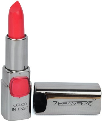 7 Heaven's Color Intense lipstick (406-Neon Pink) 3.8 g