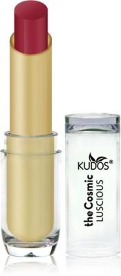Kudos Color Expert Luscious HD Lipstick Rose Garnet Shade-3 3.5 g
