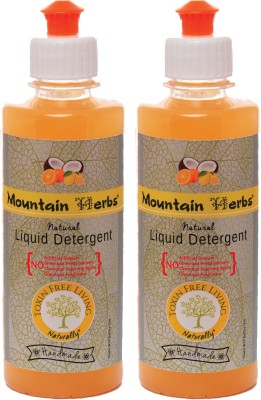 MOUNTAIN HERBS NATURAL LAUNDRY WASH Liquid Detergent