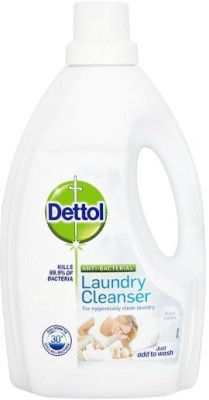 Dettol Anti-Bacterial Laundry Cleanser Cotton Fresh 1.5l Liquid Detergent